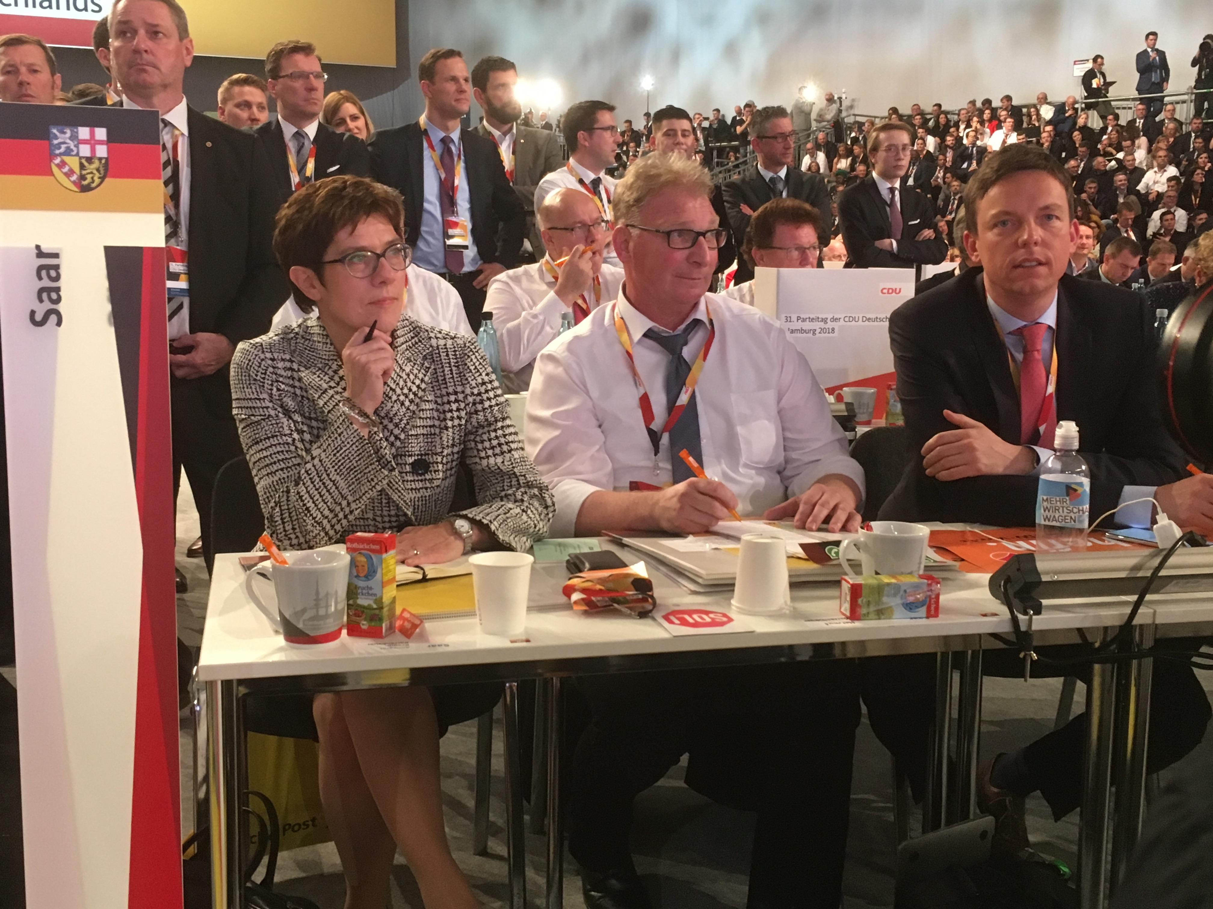 Annegret, Helmut und Florian