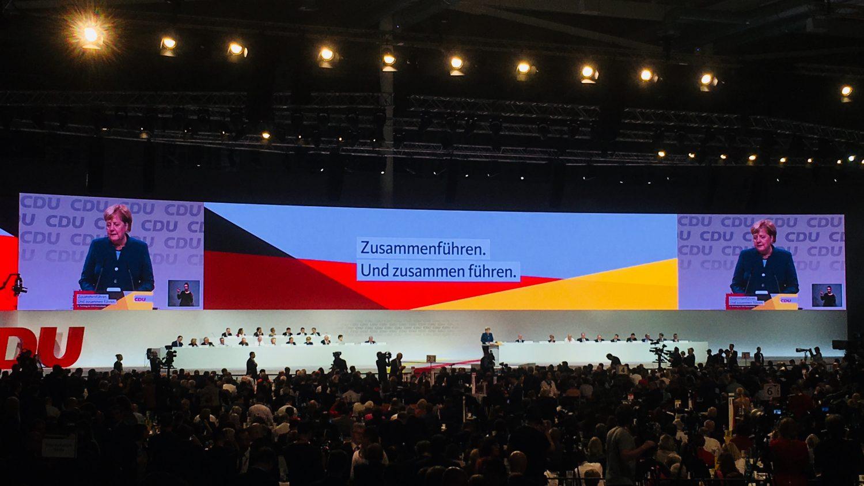 Abschiedsrede von Angela Merkel auf dem Bundesparteitag der CDU in Hamburg.