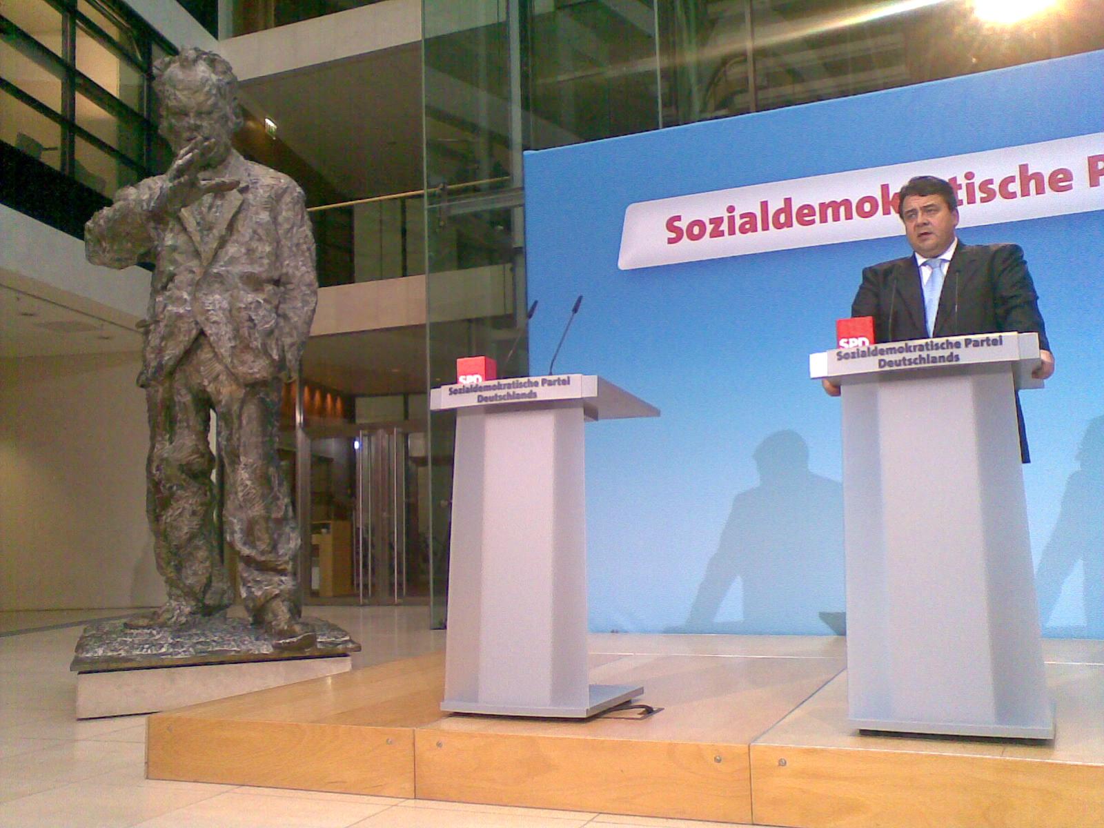 Sigmar Gabriel 2009 - Der neue Vorsitzende